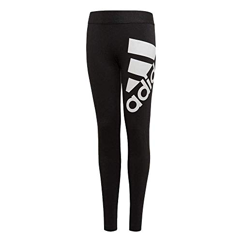 adidas Mädchen Must Haves BOS Tights, Black/White, 140