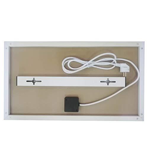 Infrarot-Heizung-Panel Raumheizung Elektrische Heizungen 180watt Weiß Rahmen Lavendel Bild 6*