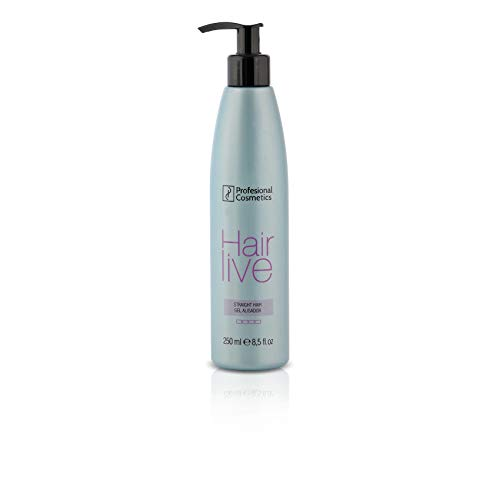 Profesional Cosmetics Hairlive Straight Hair. Producto alisador de pelo temporal - 250 ml.