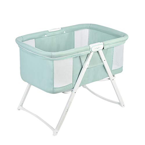 Fantastic Prices! Baby Bassinet Portable Cradle Bed Includes Gentle Rocking Feature Great for Newbor...