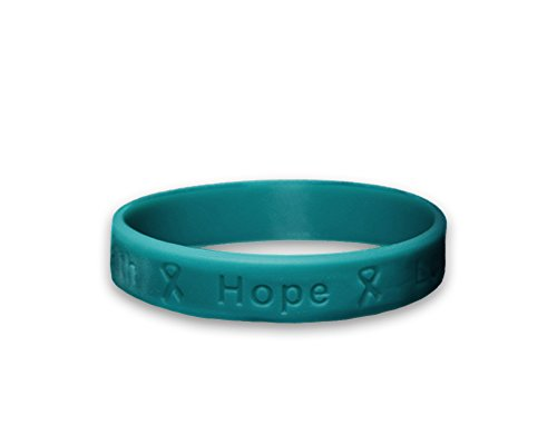 Ovarian Cancer Awareness Teal Silicone B Buy Online In Dominica At Desertcart