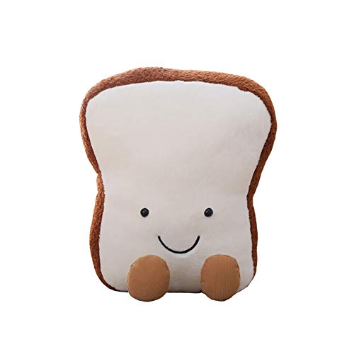 wpOP59NE Plush Toys Stuffed Animals Cute Toast Bread Doll Back Cushion Home Sofa Bed Decoration Kids Teen Boys Thanksgiving Xmas Gifts 20cm