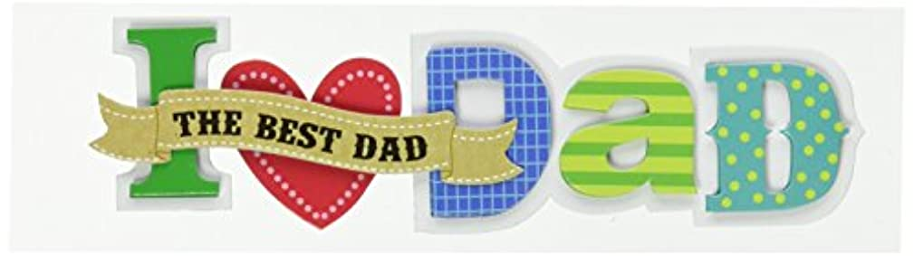 me & my BIG ideas Small Talk Stickers, I Love Dad