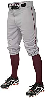 Easton PRO+ Knicker Pant Youth Piped Grey/Maroon XL