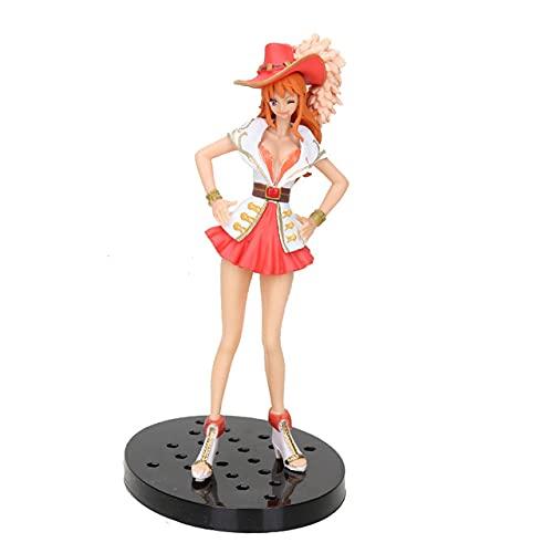 Nami Luffy Sanji Zoro Usopp Franky Brook Sabo Grandline Lady 15 ° aniversario PVC figura de acción modelo de juguete