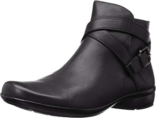 Naturalizer Womens Cassandra Ankle Bootie, Black, 8.5 M US