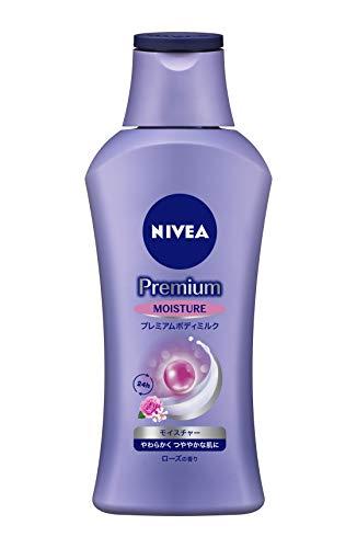 ニベア プレミアム ボディミルク モイスチャー ローズの香り 200g 【 やわらかく つややかな肌に 】 &ltボディ用乳液 &gt 超乾燥肌