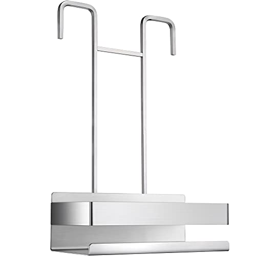 ZUNTO Duschablage zum Hängen - Duschregal Edelstahl Duschkorb OhneBohren zum Einhängen am Thermostat-armatur für Badezimmer