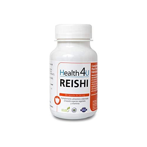 H4U - Complemento alimenticio Reishi, 90 cápsulas, 500 mg