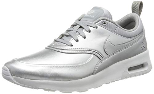 Nike 861674-001, Scarpe da Fitness Donna, Argento (Metallic Silver/Metallic Silver), 36 EU