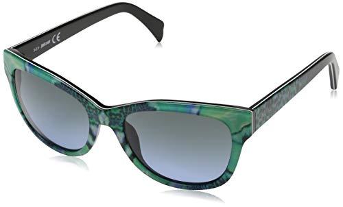 Just Cavalli Jc718s C55 Gafas de sol, Azul (Blau), 55.0 para Mujer
