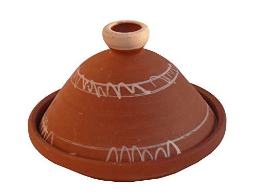Marokkanische Tajine Berber zum Kochen unglasiert Ø 28 cm für 2-3 Personen - 905791-0001