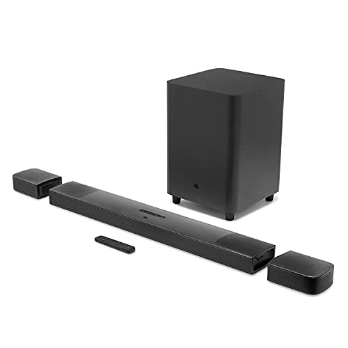 JBL Bar 9.1, Truly Wireless Home Theatre with Dolby Atmos® and DTS:X™ 3D Sound, 9.1 Channel...