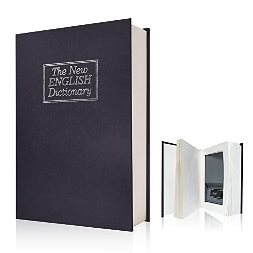 Real Pages Portable Diversion Book Safe with Combination Lock