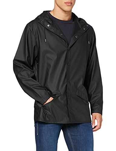 Rains Jacket - Manteau Imperméable - Homme - Noir - Medium