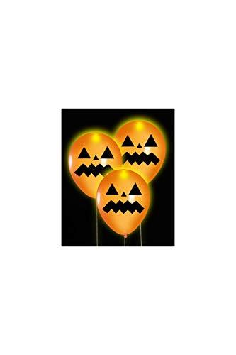 Carnival Toys – 5 stuks oplichtende LED ballonnen, meerkleurig, 004.08706