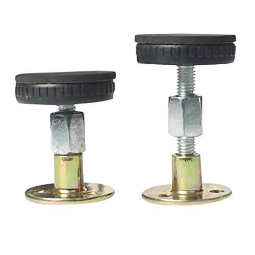 Luccase Anti-Shake-Werkzeug mit Eva-Kissen Einstellbarer Gewindebettrahmen Festbett Werkzeug für Betten Schränke Stühle Sofas (M)