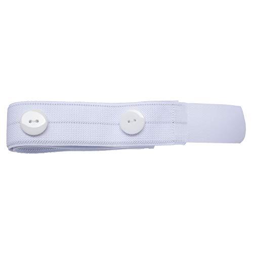 Haltebänder für Urin-Beinbeutel, 1 Paar mit Klettverschluss und Knöpfen (1)
