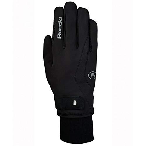Roeckl Sports Winter Handschuh Wellington GTX Unisex Reithandschuh, schwarz, 9