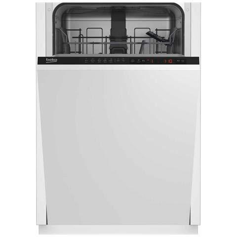 Beko DIS25010 lavavajilla Semi-incorporado 10 cubiertos A+ ...