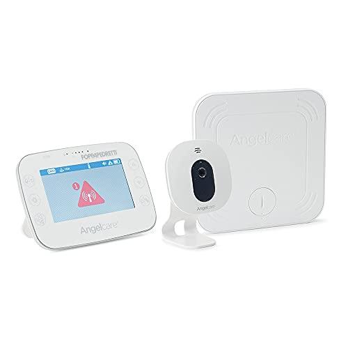 Foppapedretti Angelcare Ac327 Video Monitor Per Neonati Con Sensore Di Movimento, Bianco