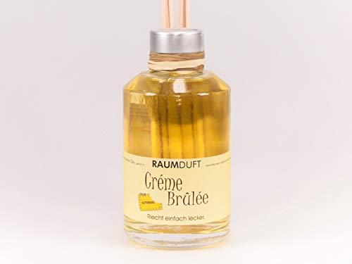 Wunsch Traum Raumduft in Apothekerflasche (Crème Brûlée mit Butterkeks, 200 ml)