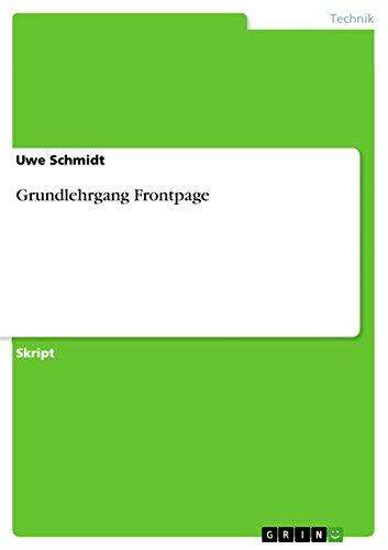 Grundlehrgang Frontpage