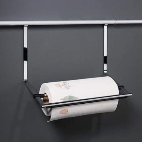 Kesseböhmer papierrolhouder voor keukenrollen, 352 x 260 x 150 mm, 1 stuk, roestvrijstalen effect, 81020019