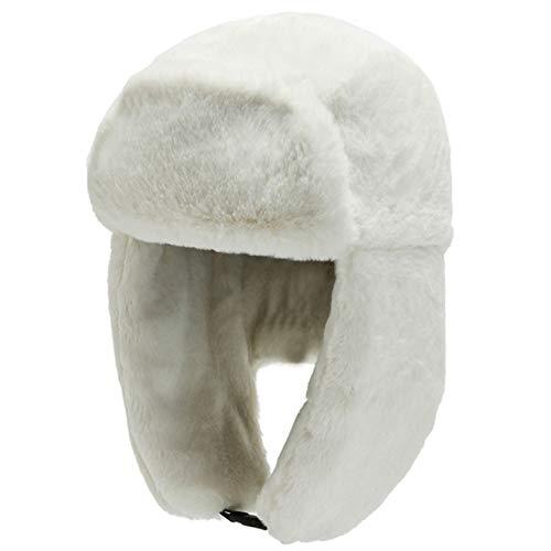Sombreros de Caza cálidos a Prueba de Viento de Invierno Unisex Que Mantienen Calientes Sombreros de Bombardero Clima frío Sombrero de Nieve al Aire Libre