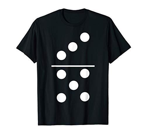 Dominosteine Spiel 3–5Halloween Gruppe Kostüm T-Shirts