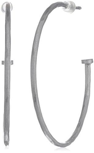 Satya Jewelry Hammered Hoop Earrings