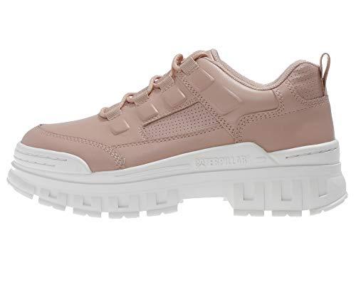 Caterpillar Damen Schuhe mit hoher Sohle - Cat Plateau Sneaker mit Dicker Sohle, Farbe:Rosa, Größe:EUR 40