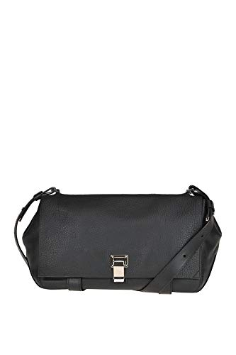 Proenza Schouler Luxury Fashion Donna MCGLBRE000006036I Nero Borsa A Spalla | Stagione Outlet