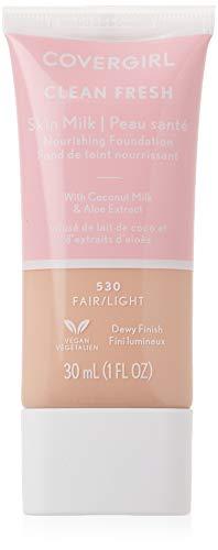 COVERGIRL Clean Fresh Skin Milk Foundation Fair/Light 1 Count