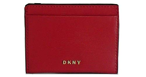 DKNY - Tarjetero para Mujer Karan New York Bryant R92Z3C09 8RD Bright Red