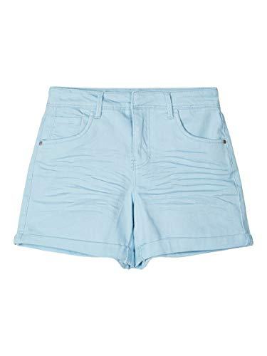 NAME IT Girl Shorts High Waist 140Dream Blue