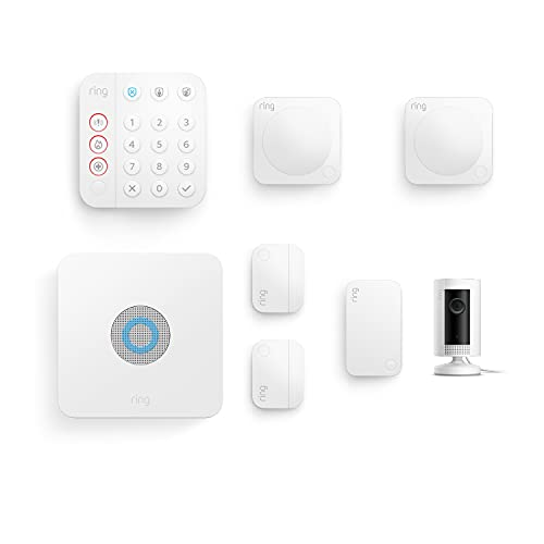 All-new Ring Alarm 7 Piece Kit (2nd Generation) + Ring Indoor Cam by Amazon – home security system...