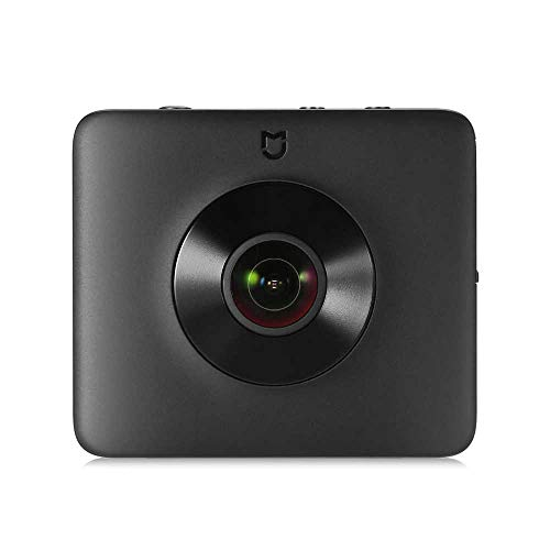 Xiaomi Mi Sphere Camera Kit ZRM4030GL, Videocamera panoramica 360, Risoluzione video da 3,5 K, Nero