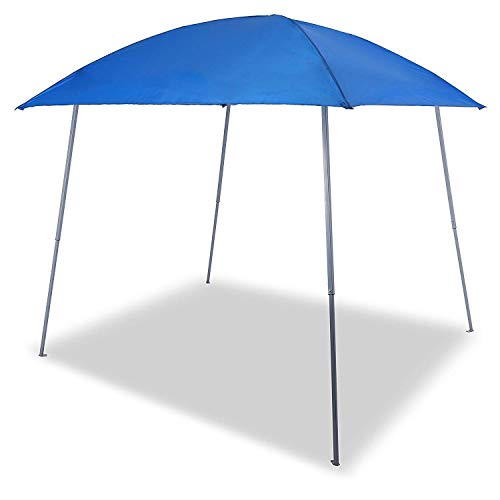 Gutgojo Pavillo Faltpavillon Faltzelt Sonnenschutz 100{7c266b88b60004f887fbb48b62f14d06abd803c4071178c39ff677cf2482bf00} Wasserdicht Gartenzelt für Camping Urlaub (3×3m, Blau)