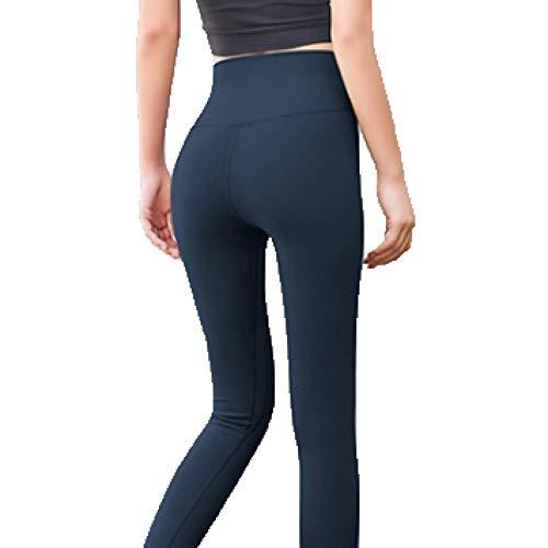 Pantalones De Entrenamiento Abdominal De Yoga, Leggings De Cintura Alta para Mujer, Leggings De Fitness Anticelulitis Tiktok para Mujer M