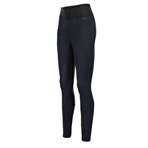 Pikeur Damen Vollbesatz Reithose INDY Grip Athleisure New Generation Herbst-Winter 2019/2020, Black, 40
