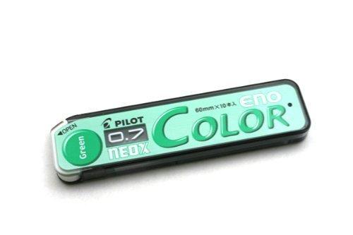 ネオックス カラーイーノ芯 0.7mm グリーン HRF7C-20-G