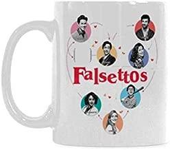 Top Falsettos Marvin Trina Mendel Whizzer Coffee Mug or Tea Cup,Ceramic Material Mugs,White - 11oz