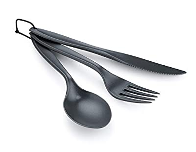 GSI Outdoors 70505 3-Piece Cutlery Set