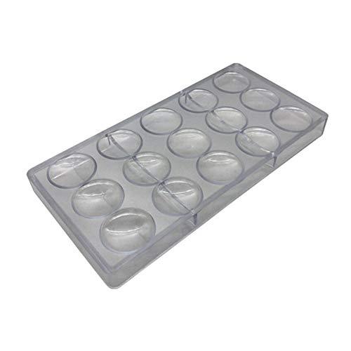 DDDCM Oblate-Schokoladen-Form Volcanic Polycarbonat Schokolade formt PC Süßigkeit Forms (Farbe : Multi-Colored)