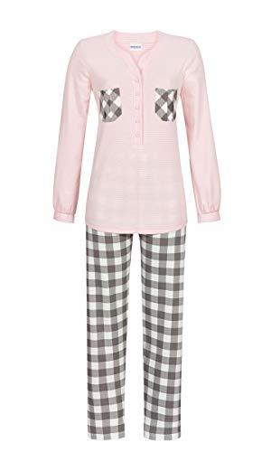 Ringella Damen Pyjama mit Knopfleiste nelke 48 9511228P, nelke, 48