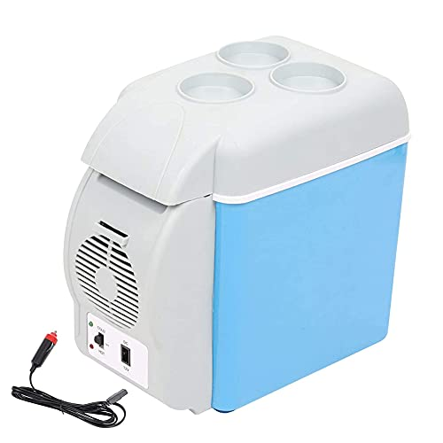 Yangyang Nevera Portatil DC12 / 24V Refrigerador de Coche Congelador Compresor de Nevera Automático Control de Temperatura/Voltaje Ajustable de 3 Niveles/Digital para Camping Coche Hogar