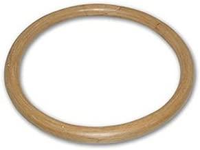 CHuangQi Wing Chun Rattan Ring (14-Inch), Tsun Siu Lum Kung Fu Ring, Basic Martial Arts Training Equipment