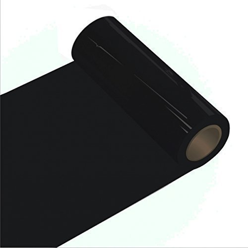 Klebefolie - Oracal 621 - 63cm Rolle - 5m (Laufmeter) -Schwarz Autofolie - Möbelfolie - Selbstklebend