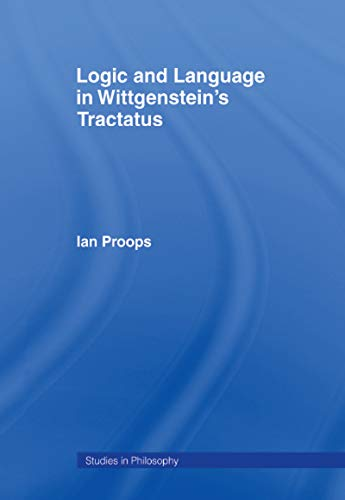 Book Cover for Logic and Language in Wittgenstein*s Tractatus